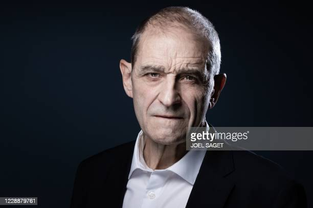 Former head of Basque separatist group ETA Jose Antonio Urrutikoetxea Bengoetxea, also known as Josu Ternera, poses during a photo session in Paris...