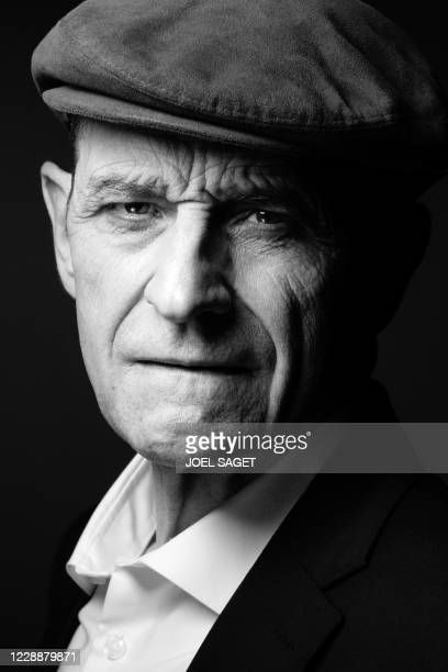 Former head of Basque separatist group ETA Jose Antonio Urrutikoetxea Bengoetxea also known as Josu Ternera poses during a photo session in Paris on...