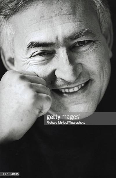 Former head of IMF Dominique StraussKahn is photographed for Madame Figaro on January 26 2002 in Paris France Published image Figaro ID 054010005...