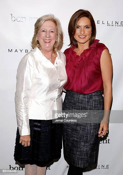 Former Head of the Sex Crimes Unit of the Manhattan District Attorney's Office Linda Fairstein and Actress Mariska Hargitay attend the Joyful Heart...