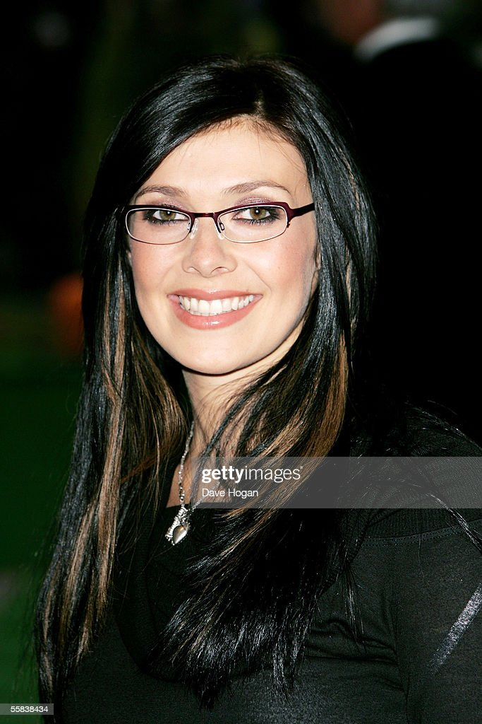 Former Hear'Say singer Kym Marsh arrives at the UK Charity premiere of animated film 'Wallace & Gromit: The Curse Of The Were-Rabbit' at the Odeon West End on October 2, 2005 in London, England.