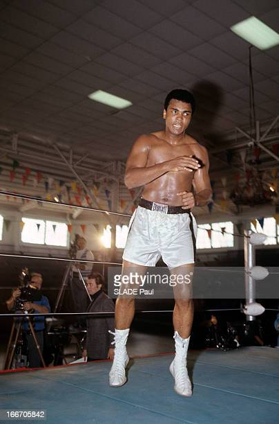 Former Heavy Weight World Champion Cassius Clay Prepares His Return Against Jerry Quarry Aux EtatsUnis à Atlanta en octobre 1970 Mohamed ALI alias...
