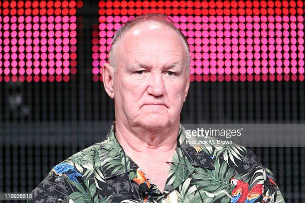 Former heavyweight boxer Chuck Wepner speaks during the ESPN portion of the 2011 Summer TCA Tour at the Beverly Hilton on July 27 2011 in Beverly...