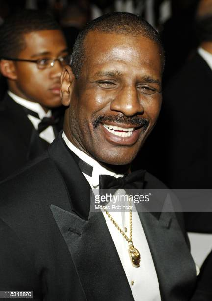 Former Heavyweight Champ Michael Spinks during A Candle in the Dark Gala 2006 at Hyatt Regency Hotel in Atlanta Georgia United States