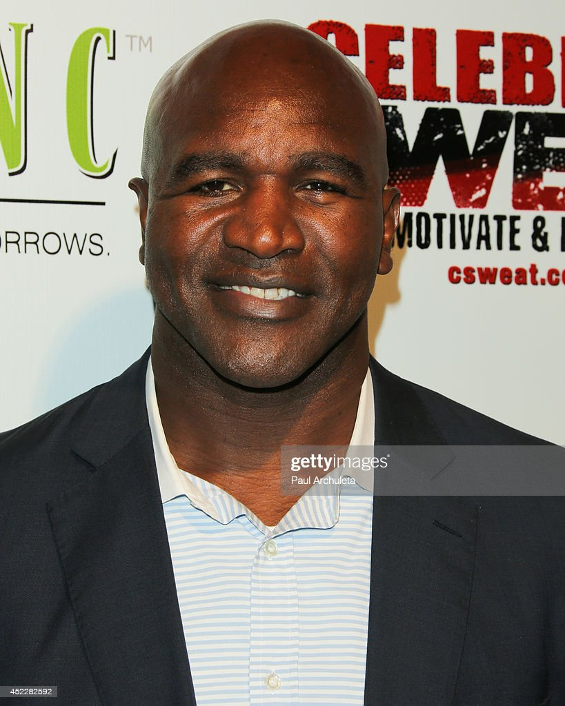 Former Heavyweight Champon Boxer Evander Holyfield attends his ESPYS Awards after party on July 16, 2014 in Los Angeles, California.