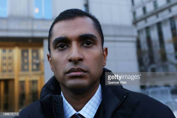Former hedge fund portfolio manager Mathew Martoma exits a New York federal court after being charged in one of the biggest insider trading cases in...