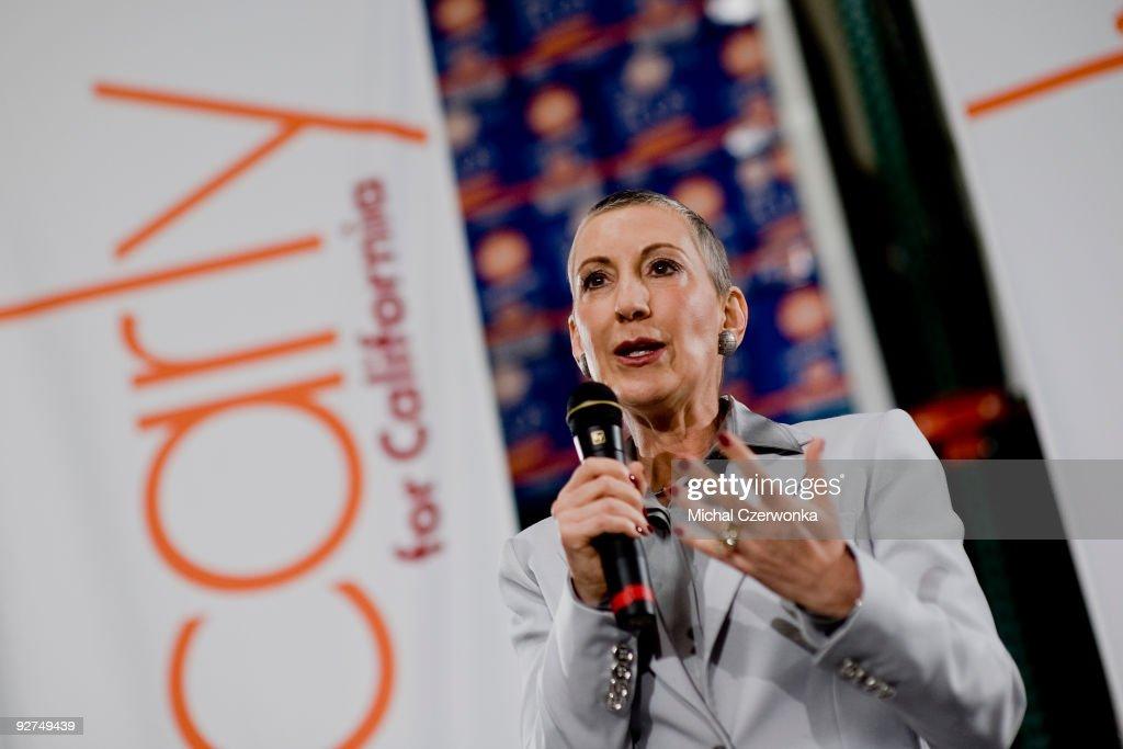 Former HP CEO Carly Fiorina Announces US Senate Bid