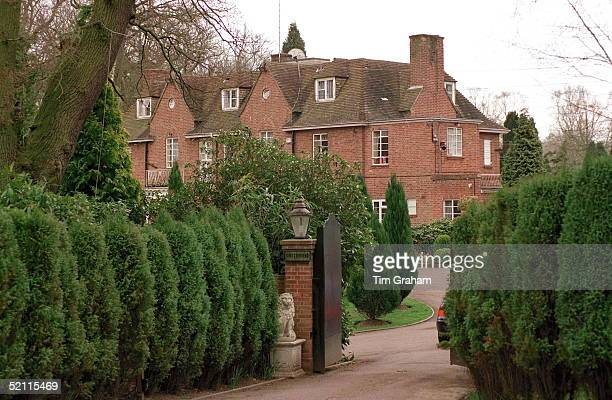 Former Home Of Sarah Duchess Of York 'kingsbourne' On The Wentworth Estate Near Ascot