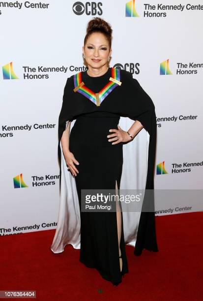 Former honoree Gloria Estefan arrives at the 2018 Kennedy Center Honors at The Kennedy Center on December 02 2018 in Washington DC