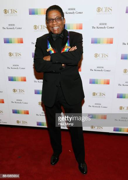 Former honoree Herby Hancock attends the 40th Kennedy Center Honors at the Kennedy Center on December 3 2017 in Washington DC