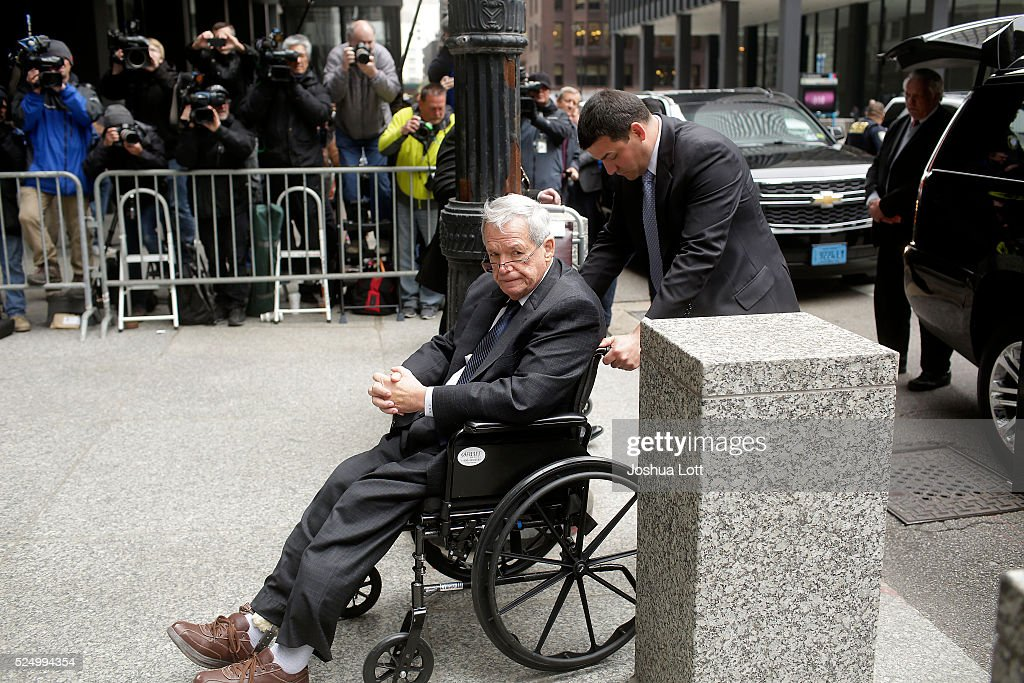 Former House Speaker Dennis Hastert Sentenced In Bank Reporting Case