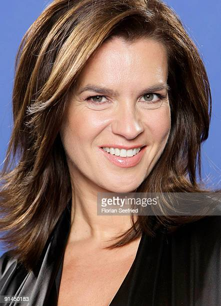 Former ice skating champion Katarina Witt attends her presentation as new Bambi Host at Sky Lounge at Side Hotel on October 5, 2009 in Hamburg,...