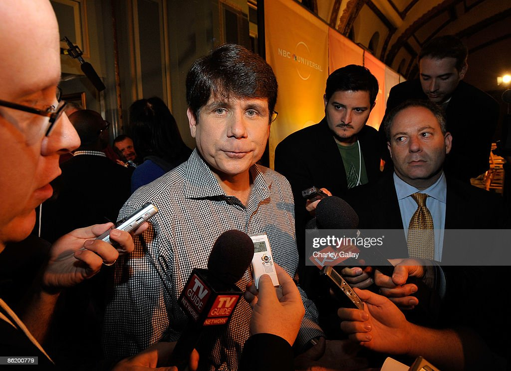 Former Illinois Gov. Rod Blagojevich attends a press conference for 'I'm a Celebrity Get Me Out Of Here!' at the Langham Hotel on April 24, 2009 in Pasadena, California.