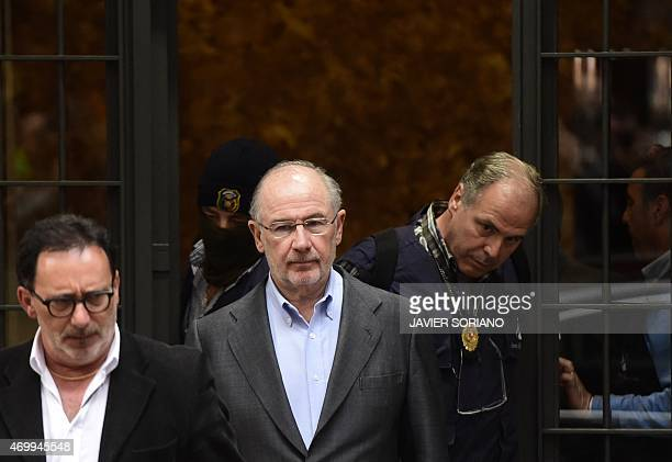 Former IMF head and ex economy minister with Spain's ruling conservative party Rodrigo Rato who has already been charged in two corruption cases is...