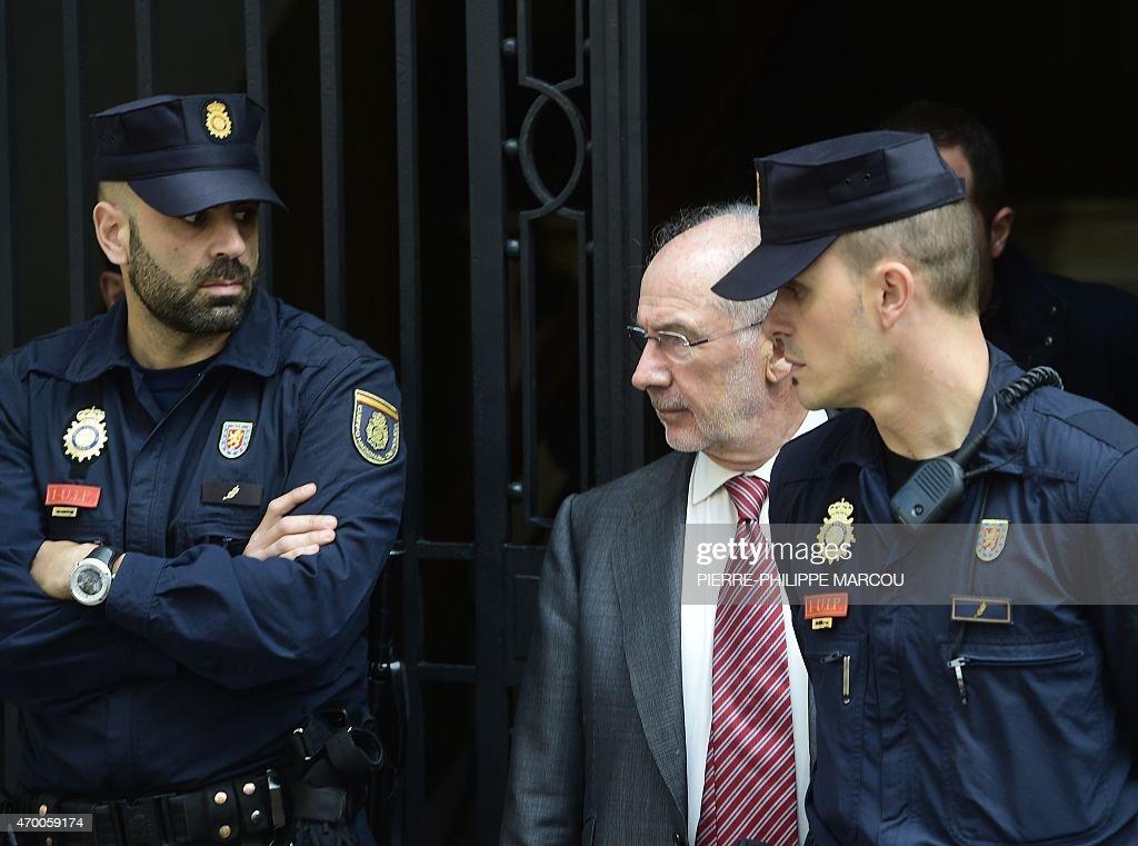 SPAIN-CRIME-POLITICS-TAX : News Photo