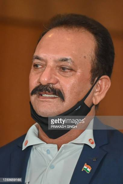 """Former Indian cricketer Madan Lal, who won the 1983 World Cup, attends the launch of the newest edition of """"The 1983 World Cup Opus"""" book in Gurgaon..."""