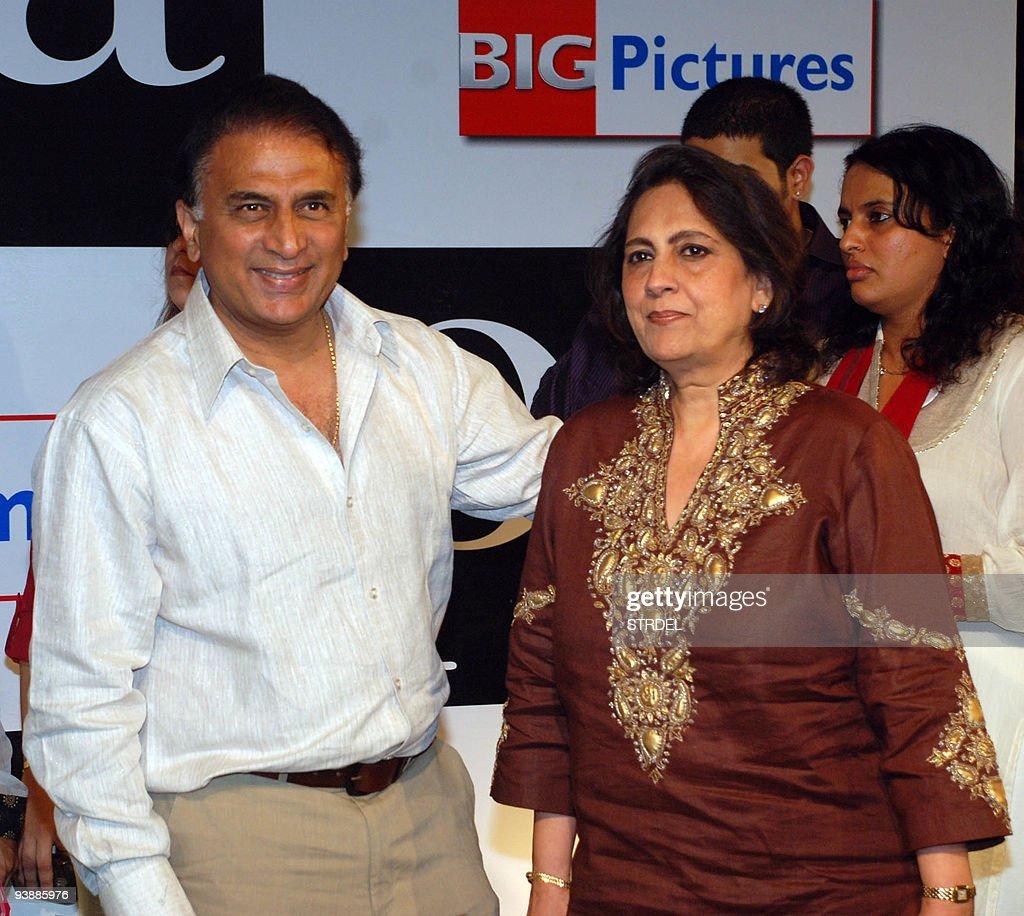 Former Indian cricketer Sunil Gavaskar ( : Nachrichtenfoto