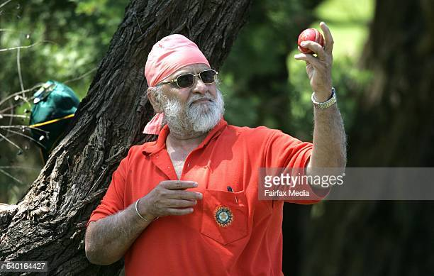 Former Indian leg spinner Bishen Bedi at Riverview College coach of the visiting under19 Sikh team 10 January 2007 ILM SPORT Picture by ORLANDO CHIODO