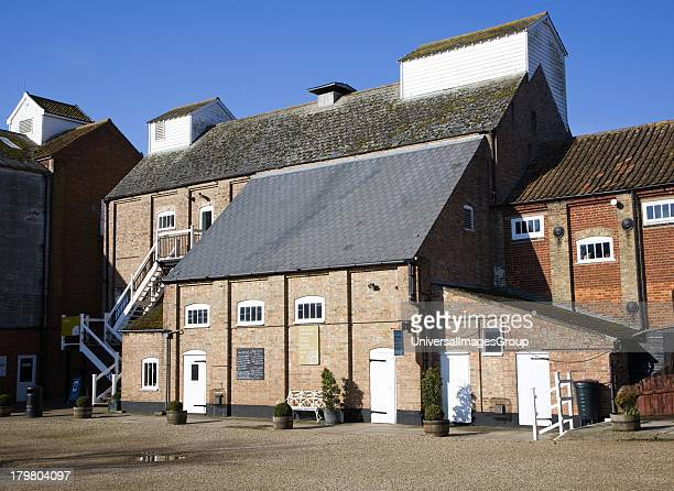 Former industrial buildings at Snape Maltings Suffolk England