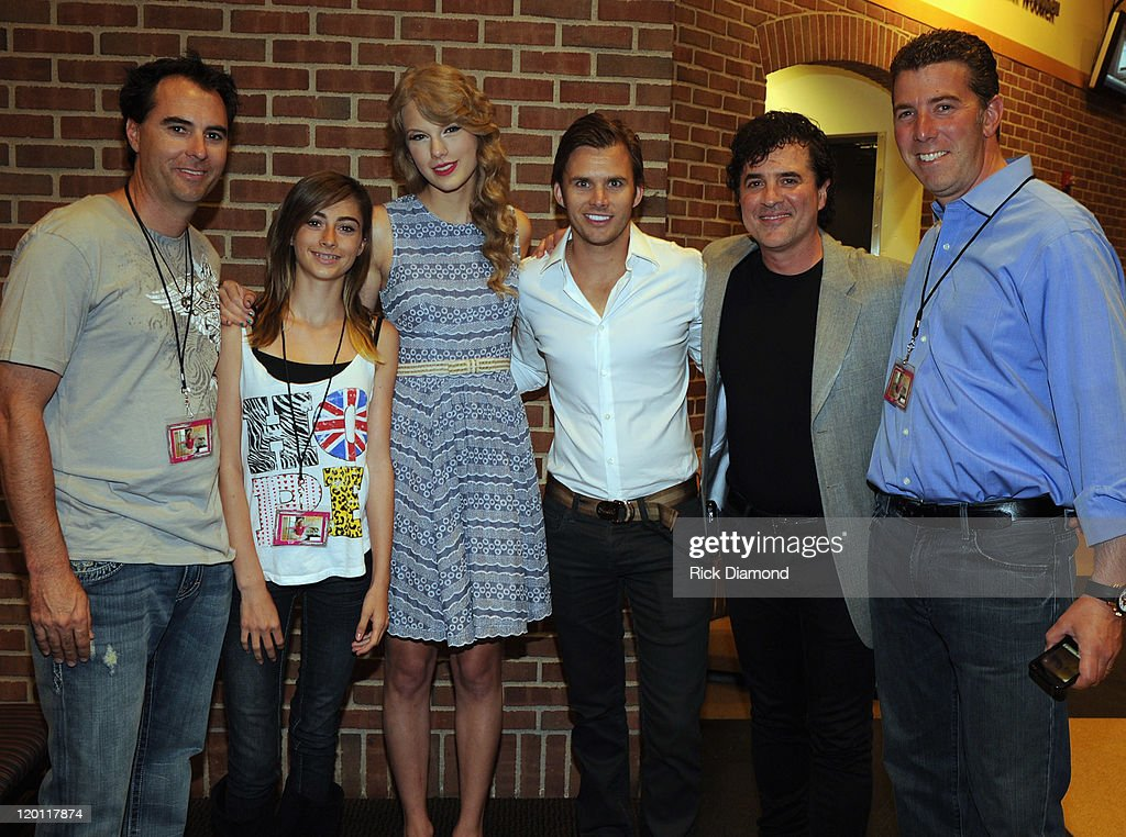 Big Machine Label Group Hosts  NASCAR & Indy Drivers Backstage At The Taylor Swift Concert