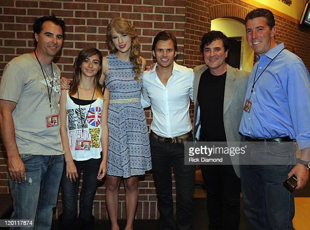 Former Indy Driver Bryan Herta Cali Herta Singer/Songwriter Taylor Swift 2011 Indy 500 Winner Dan Wheldon CEO/President Big Machine Records Scott...