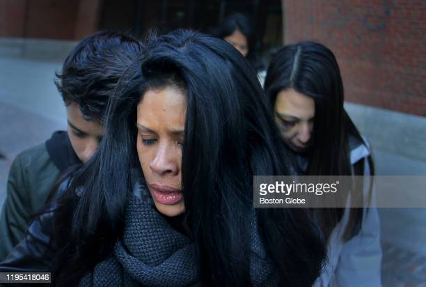 Former Insys Theraputics executive Sunrise Lee leaves the John Joseph Moakley United States Courthouse in Boston after her sentencing on Jan. 22,...