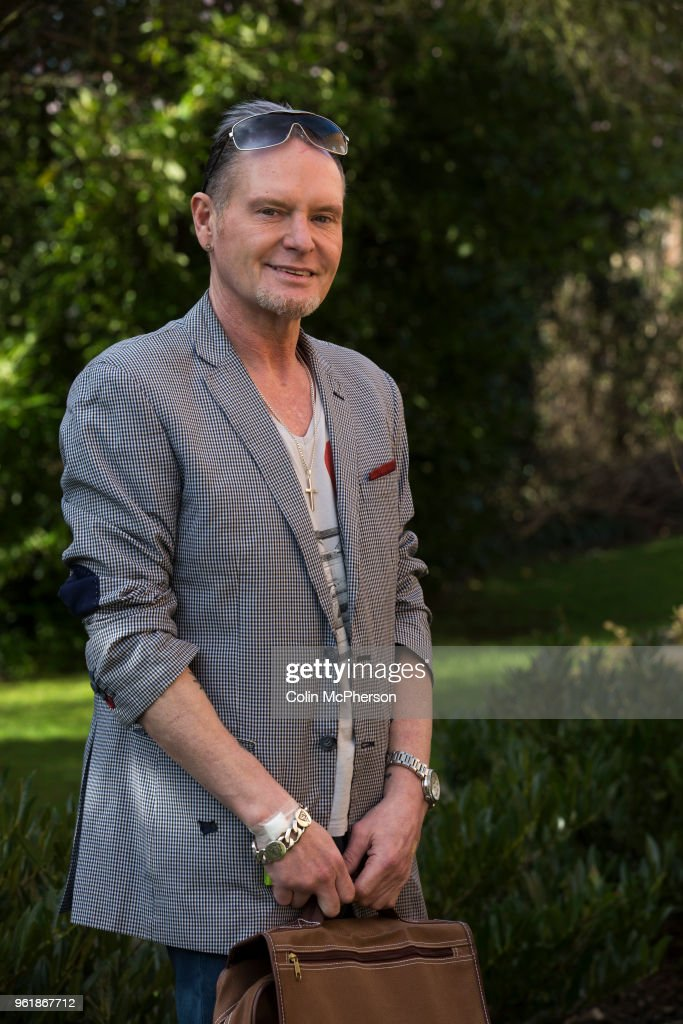 Former international footballer Paul 'Gazza' Gascoigne pictured after undergoing a nutrient infusion at Cassiobury Court, a drug and alcohol rehabilitation clinic in Watford, England. The pioneering protocol, involving a product known as NAD+, helps repair the brain and body has been introduced to the United Kingdom by John Gillen, managing director of London-based firm Bionad Ltd. Patients undergo several infusions, which can take up to several hours to complete, under medical supervision at the clinic.