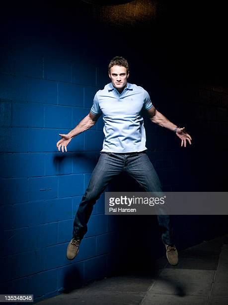 Former international rugby player Thom Evans is photographed on September 22 2011 in London England