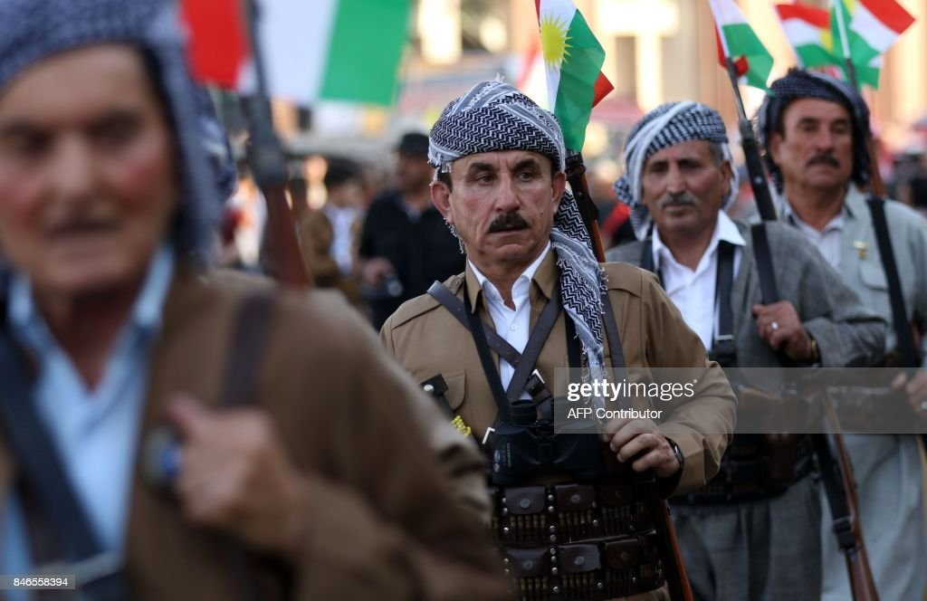 IRAQ-KURDS-POLITICS-REFERENDUM : News Photo