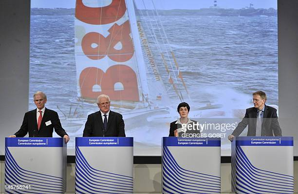 Former Irish Prime Minister John Bruton, Chairman of the Grantham Foundation Jeremy Grantham, famous sailor and yachtwoman Ellen MacArthur, and EU...