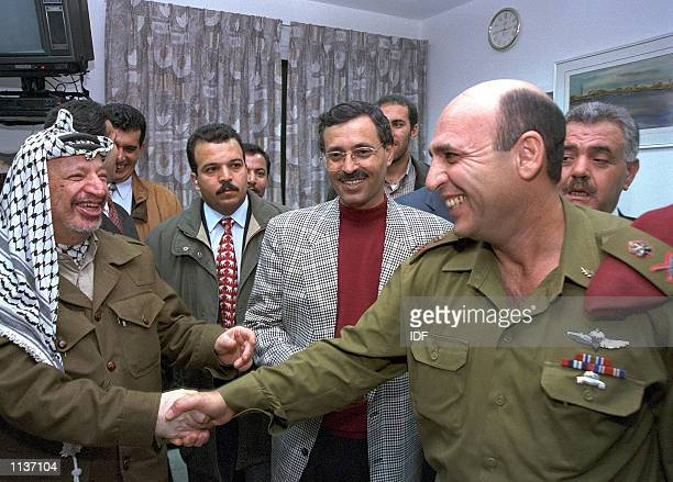 Former Israeli Defense Forces chief Shaul Mofaz who headed the IDF during the current Palestinian uprising and launched Operations Defensive Shield...
