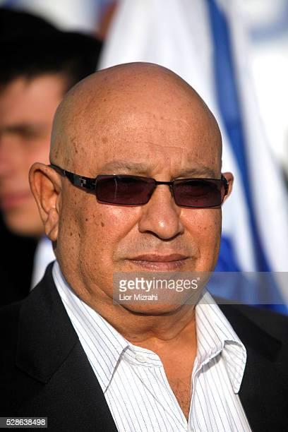 Former Israeli Mossad chief Meir Dagan is seen on April 23, 2012 in Jerusalem, Israel.