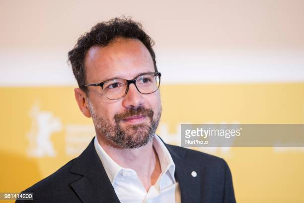 Former Italian director of Locarno Film Festival Carlo Chatrian is pictured during a press conference in Berlin Germany on June 22 2018 Chatrian has...