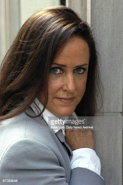 Former Jefferson Airplane lead singer Grace Slick outside the Royalton Hotel