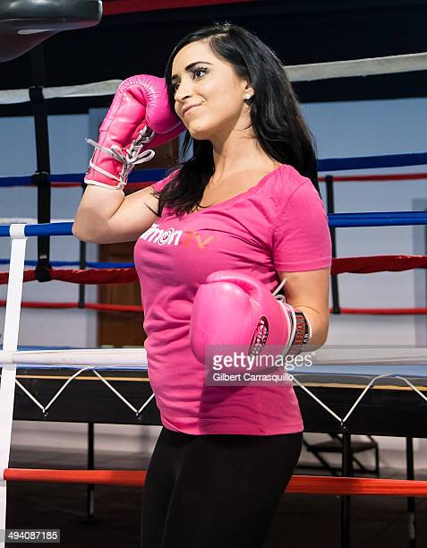 World Xtreme Entertainment Celebrity Boxing Training Session With
