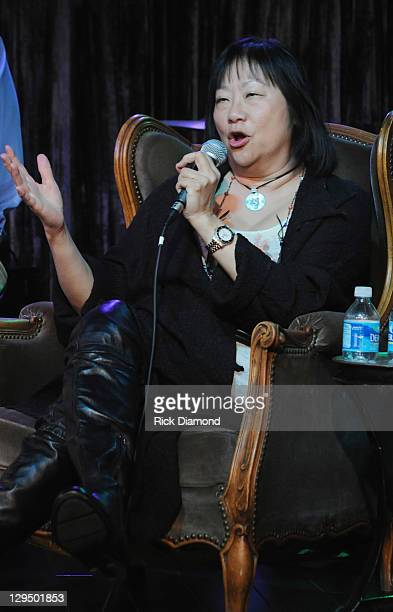 Former John Lennon girlfriend/Author May Pang attends the Habitat for Humanity the House the Beatles Fans Built event at Two Old Hippies in The Gulch...