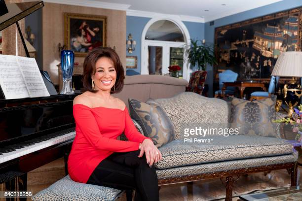 Former judge Jeanine Pirro is photographed for Closer Weekly Magazine on March 29 2017 at home in Westchester County New York PUBLISHED IMAGE