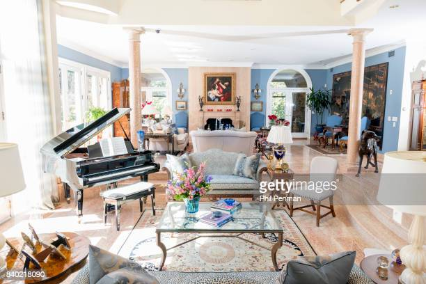 Former judge Jeanine Pirro's home is photographed for Closer Weekly Magazine on March 29 2017 in Westchester County New York