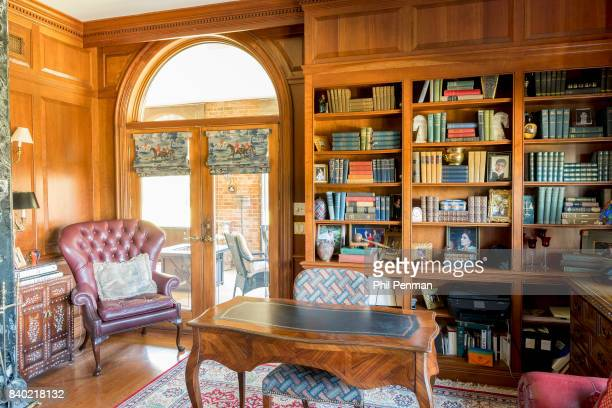 Former judge Jeanine Pirro's home is photographed for Closer Weekly Magazine on March 29 2017 in Westchester County New York Library PUBLISHED IMAGE