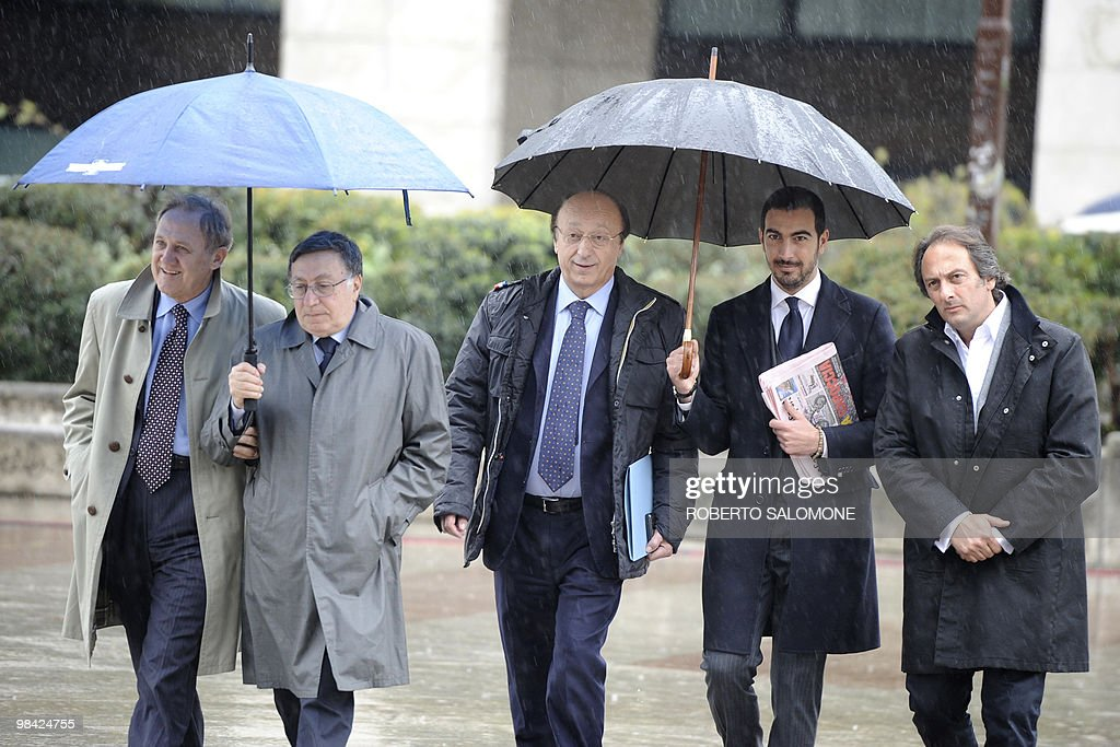 Former Juventus Football Club general ma : News Photo