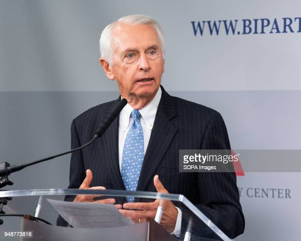 Former Kentucky Governor Steve Beshear speaking at the Restoring Our Democracy program at the Bipartisan Policy Center