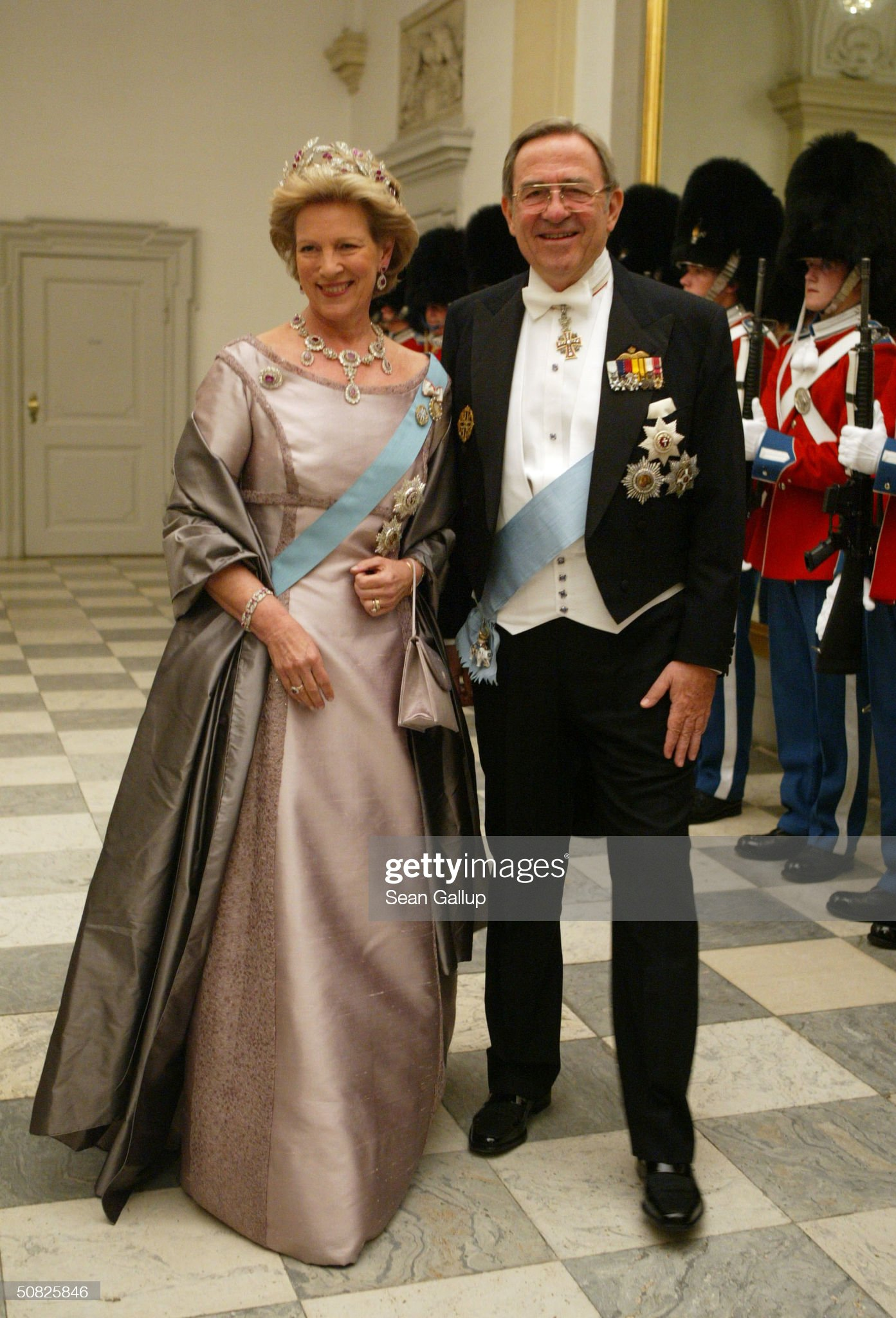 Denmark: Dinner in Christainsborg Palace : News Photo