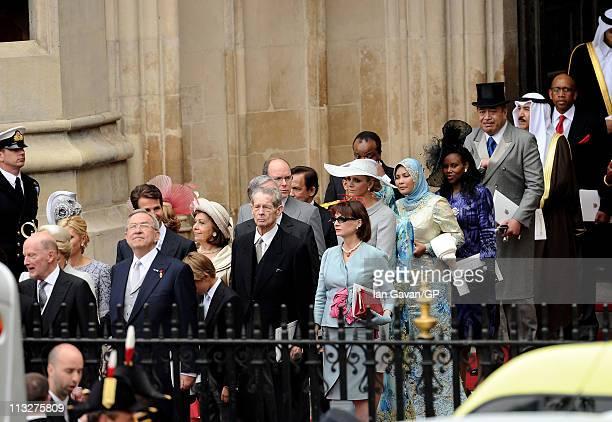 Former King Constantine II of Greece AnneMarie of Greece MarieChantal Crown Princess of Greece MarieChantal Crown Princess of Greece Pavlos Crown...