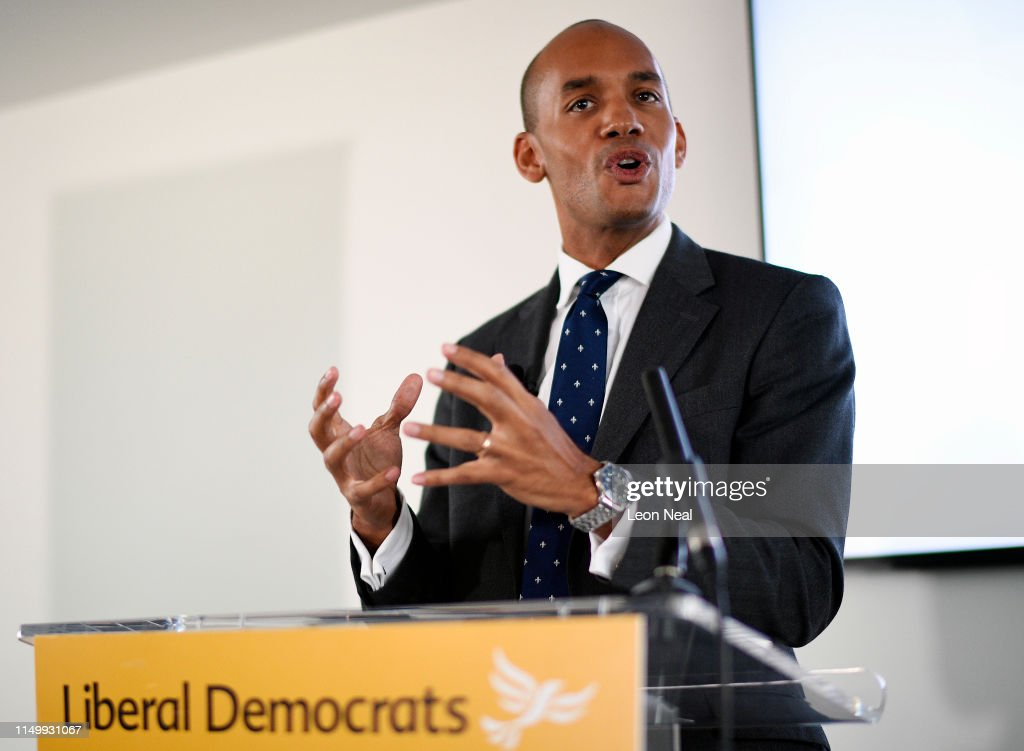 Former Labour And Change UK MP Joins The Liberal Democrat Party : News Photo