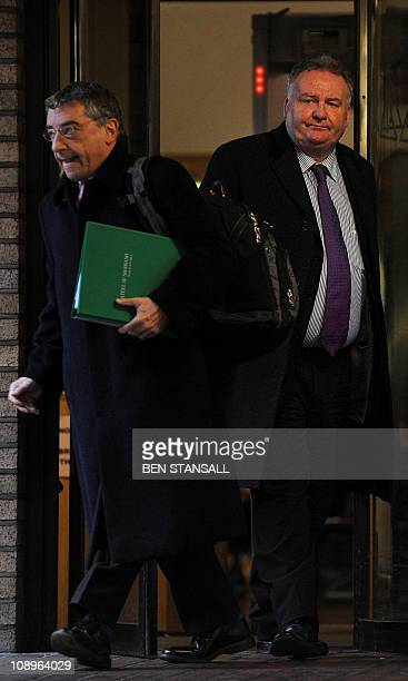Former Labour MP Jim Devine leaves Southwark Crown Court in central London on February 10 2011 A court on Thursday found an exmember of the British...