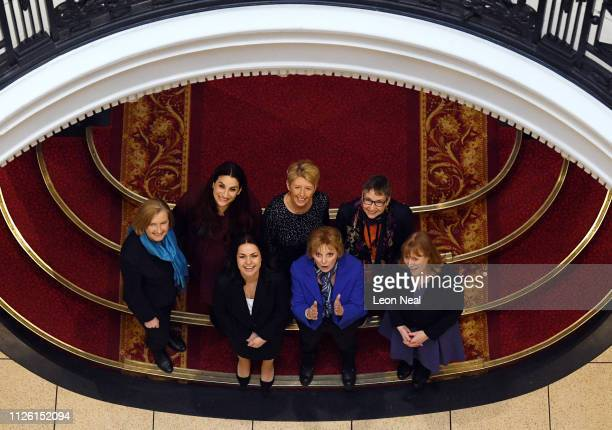 Former Labour MPs Angela Smith Luciana Berger and Ann Coffey former Conservative MPs Heidi Allen Sarah Wollaston and Anna Soubry and Labour MP Joan...