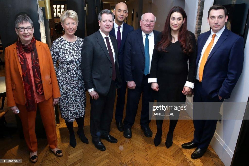 BRITAIN-EU-POLITICS-BREXIT-LABOUR : News Photo