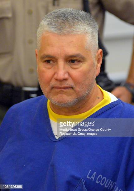 Former LAUSD teacher Robert Pimentel sits in court after he was sentenced to 12 years in prison in Long Beach CA on Thursday June 19 2014 Pimentel...