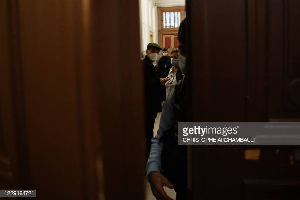 Former leader of Basque separatist group ETA Josu Ternera whose real name is Jose Antonio Urrutikoetxea Bengoetxea attends the first of his two...