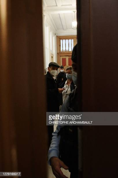 Former leader of Basque separatist group ETA, Josu Ternera, whose real name is Jose Antonio Urrutikoetxea Bengoetxea, attends the first of his two...